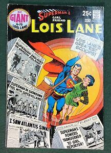Superman's Girlfriend Lois Lane #104 DC Comics Silver Age GIANT SIZE vg