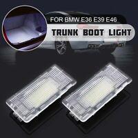 2x LED Eclairage Coffre Bagage pour BMW E36 E38 E39 E46 E60 E82 E88 E90 E91 E92
