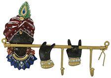 Lord Krishna Hanger Metal Iron Hanger Hook For Cloth Hanging Key Hanger
