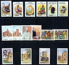 ZAMBIA – 1990-1996  – COLLECTION – VF  **