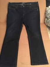WOMENS SILVER AIKO MID STRAIGHT WESTERN GLOVE WORKS JEANS 22 X 32