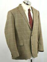 Lauren Ralph Lauren Mens Slim Fit Wool Silk Linen Blazer Jacket Sport Coat 50R