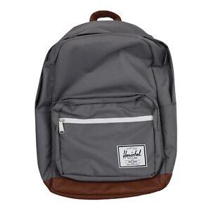 Herschel Supply Company POP QUIZ Backpack 15in Laptop Bag Grey Tan Brand New