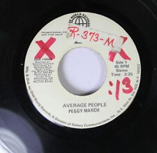 Pop Promo 45 Peggy March - Average People / Average People On Olde World Records