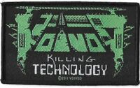 Official Licensed Merch Woven Sew-on PATCH Metal Rock VOIVOD Killing Technology