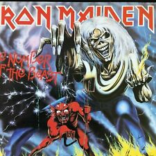 Vinile IRON MAIDEN THE NUMBER OF THE BEAST 1982, LP EMI ‎– 3C 064-07608