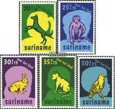 Suriname 794-798 (complete.issue.) unmounted mint / never hinged 1977 Pets