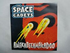 "THE SPACE CADETS - AWAKADEEAWAKADOO - RARE 7"" VINYL NEO ROCKABILLY ASTRO ROCKIN'"