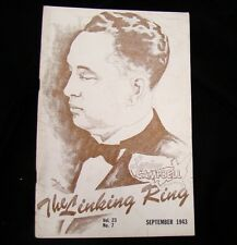 Magicians Mag Linking Ring Loring Campbell Sept 1943