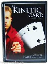 The Kinetic Card DVD with Gimmicks -Flying Card Close-Up Magic & Sleight of Hand