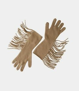 MAX MARA - Fringed Wool Gloves - NEW!