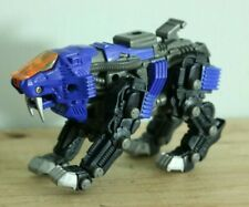 Tomy Zoids Shield Liger Figure Blade Lion Blue Tiger Figure Micro Zoid