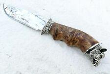 Custom Hunting Knife Bowie Knife WILD BOAR Skinning Hunter Knife Stainless Steel