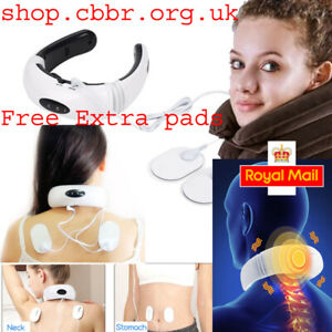 Electric Neck Massager &Heating Gift Neck Pain Far Infrared Heating Pain Relief