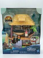 Disney Moana Of Oceania & Heihei Lounge At Their Village Paradise SHIPPED IN BOX