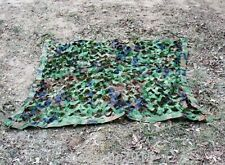 MILITARY CAMOUFLAGE NET WOODLANDS CAMO