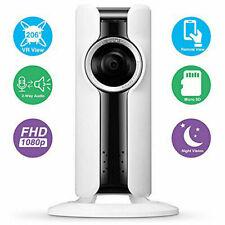 VR CAM TELECAMERA P2P WIFI WIRELESS FULL HD INTERNO IR CAMERA SPIA IP VIDEO SD I