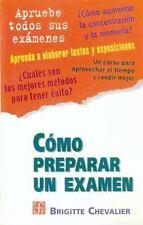 Como Preparar un Examen (Paperback or Softback)