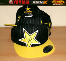One Industries Rockstar Energy Thomps. Base Cap Hat Mütze NEU One Size Snap Back