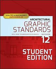 Architectural Graphic Standards: By American Institute of Architects, Hedges,...