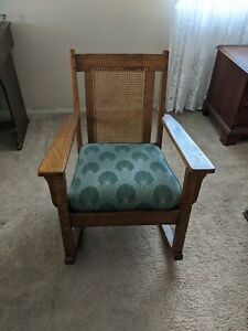 Antique Mission Oak Rocker, Rocking Chair