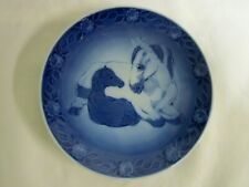 Royal Copenhagen 1984 Plate Mother Horse and Her Young One 6""