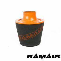 RAMAIR Grand Aluminium Induction Mousse Filtre à Air 80Mm Od Col En Orange