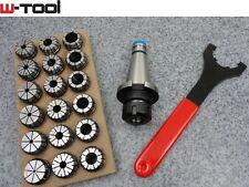 SK40 DIN2080 Spannzangenfutterset ER32/470E Spannzangen 3-20mm Spannzangenset