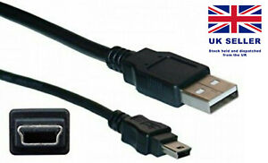 Mini USB Cable USB A Type Male USB to Mini USB Male 5 pin Connector 0.5 Meter