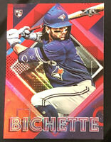 2020 Topps Fire #71 Bo Bichette RC Red Parallel Toronto Blue Jays Rookie- MINT!