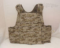 FLYYE MOLLE PC Plate Carrier Tactical Vest - AOR1 Desert Camo Navy Seal – size S