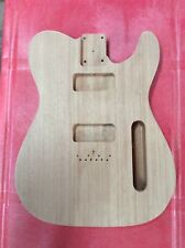 Custom Unfinished Mahogany Guitar Body Telecaster With P90s