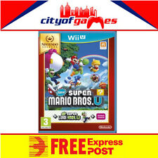 New Super Mario Bros U New Super Luigi U Nintendo Selects Wii U New Free Express