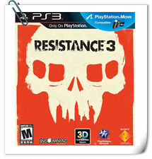 PS3 MOVE Resistance 3 SONY PLAYSTATION SCE Action Games