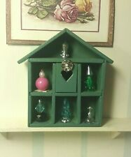 Barbie Doll size Perfume Display Cabinet ☆Ooak☆ Excellent Condition Diorama Fun