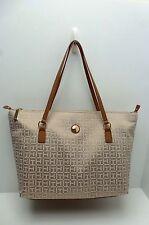 TOMMY HILFIGER Women's Handbag Tote*Khaki Shoulder Purse New $98