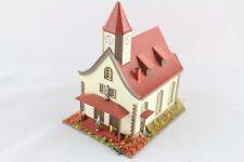 Vollmer 9560 Dorfkirche mit Figuren Spur Z +Top+