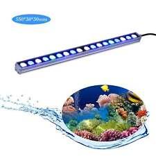 Blue&White 54W LED Aquarium Light bar Coral Reef Fish Tank lighting 55cm lamp