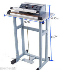 New Foot Pedal Impulse Sealer heat sealing machine,Plastic Bag sealer 600mm*3mm
