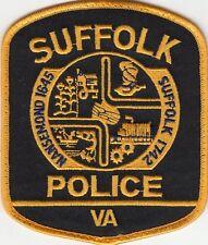 SUFFOLK POLICE SHOULDER PATCH VIRGINIA VA