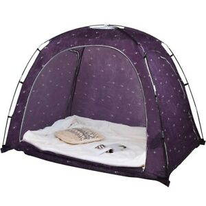 Bed Indoor Privacy Play Tent Full Queen Size Bed With Bag Kids Indoor Fun Play