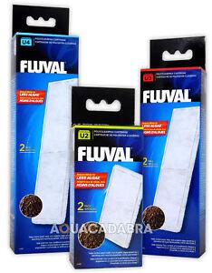 FLUVAL U2 U3 U4 POLY CLEARMAX FILTER CARTRIDGE FISH TANK AQUARIUM FILTRATION