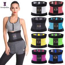 Women Sauna Waist Trainer Belt Tummy Control Yoga Slim Body Shaper Girdle Corset