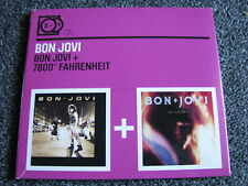 Bon Jovi-2 for 1 CD-Bon Jovi + 7800 Fahrenheit-2009 EU-Germany-Mercury-Universal