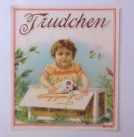 Oblaten, Gatti, Bambini, Mode, Trudchen, 1900,11,5 cm x 10 cm (66247)