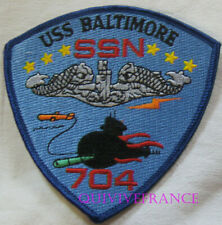 PUS264 - US NAVY BALTIMORE SSN-704 PATCH SOUS-MARIN NUCLEAIRE