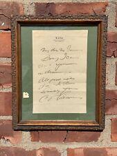 Gibson Girl Artist Charles Dana Gibson Signed Letter On Life Magazine Letterhead