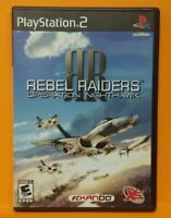 Rebel Raiders Operation PS2 Playstation 2 COMPLETE Game 1 Owner Mint Disc