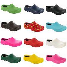 Birkenstock Super Birki Clogs Slippers Sandals Work Garden Kitchen Shoes womens