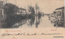 # TREVISO: veduta dal ponte di S. Martino  1901